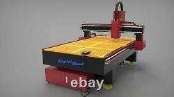 Cnc router wood foam PVC EVA plywood carving cutting machine 4x8 4axis USA sale