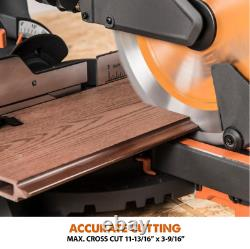 Compound Miter Saw Sliding Multi Material Cutting Blade Wood Decking Metal Plast