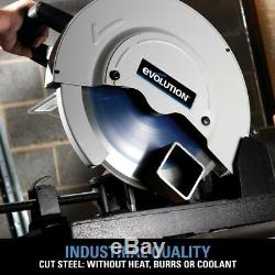 Corded Steel Cut-off Circular Chop Saw Metal Wood Aluminum Cutting Tool 14-in
