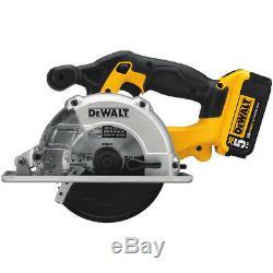 DEWALT 20V MAX Li-Ion 5-1/2 in. Metal Cutting Circular Saw Kit DCS373P2 New