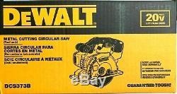 DEWALT-DCS373B 20 V MAX Metal Cutting Circular Saw (Tool Only) NEW DCS373 B