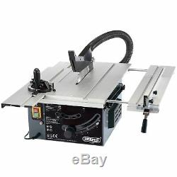 Draper 250mm 1800W 230V Wood Cutting / Woodwork Sliding Table Saw 82571