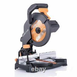 Evolution Power Tools R210CMS Compound Mitre Saw Multi-Material Cutting 1200W