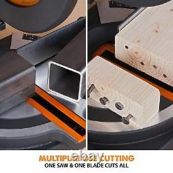 Evolution Power Tools R210CMS Compound Mitre Saw With Multi-Material Cutting