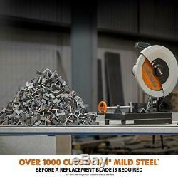 Evolution RAGE2 14 inch Metal Chop Saw Steel Cold Cut Aluminum Wood Cutting Tool