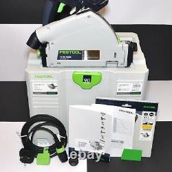 Festool TS 55 REBQ-Plus Plunge-Cut Circular Saw in Systainer / 240V / No. 561551