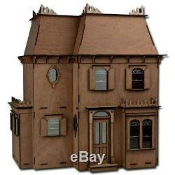 Greenleaf Dollhouse Rosedale Laser Cut Wooden Kit