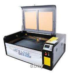 HL 80W Laser Cutting Engraving Machine Ruida 1060 Laser Engraver Cutter Wood