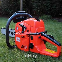 Heavy Duty 20 52cc Chainsaw Wood Cutting Saw Cutter Two Stroke Petrol Engine
