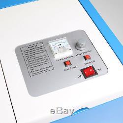 High Precise 40W CO2 USB Laser Engraving Cutting Machine Engraver Wood Cutter