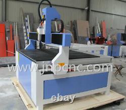High quality 12001200mm T-slot table 2.2 kw small cnc wood mdf cutting machine