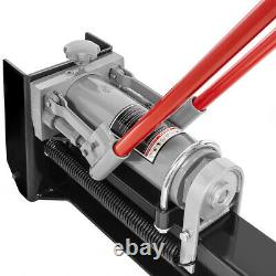 Hydraulic 12 Tons Log Splitter Cut Wood Cutter Manual Operated with 2-Wheel