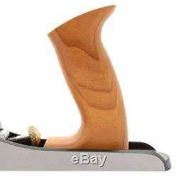 Jack Plane Low Angle Adjustable Throat Plate Wood Home Hand Cutting Tool 14 in