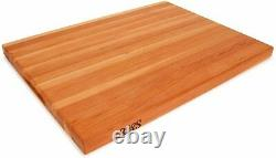 John Boos 24 by 18 by 1.5-Inch Reversible Cherry Cutting Board CHY-R02