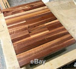 John Boos Black Walnut 18 x 25 x 1.5 Wood Edge Grain Counter // Cutting Board