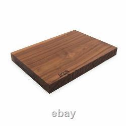 John Boos & Co Walnut Rustic Edge Design Cutting Board (21x12x1.75)