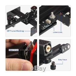 Laser Engraving Cutting Machine Engraver CNC DIY Logo Mark Printer Metal Wood 20