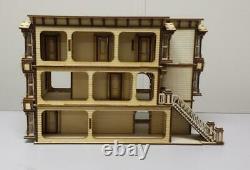 Lisa San Francisco Dolls House 148 Quarter Scale Lazer Cut Flat Pack Kit