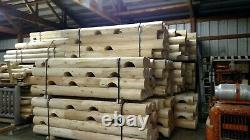 Log cabin building kit white cedar logs round double tongue and groove pre cut 8