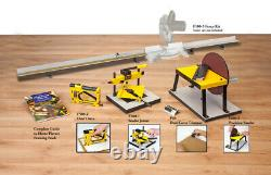 Logan F602 Wood Picture Framing Frame Cutting/Joining Tools Bundle New +Warranty