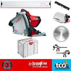 Mafell Plunge-Cut Saw MT55cc 110V / 240V MidiMAX T-MAX Systainer OR Guide Rails