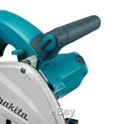 Makita SP6000J1 Plunge Cut Circular Saw 165mm 240v + 2 x 1.5m Guide Rail + Case