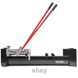 Manual Operated 12 Tons Hydraulic Log Splitter Cut Wood Cutter with 2-Wheel