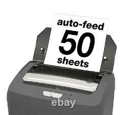 Micro Cut Paper Shredder Heavy Duty Commercial Microcut Auto Feed Confetti Home