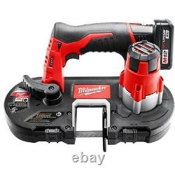 Milwaukee 2429-21XC M12 12V Sub-Compact Band Saw with Battery