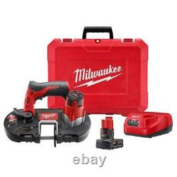 Milwaukee 2429-21XC M12 Cordless Sub-Compact Band Saw Kit IN STOCK