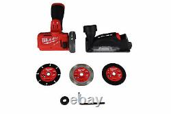 Milwaukee 2522-20 M12 FUEL Cordless 3 in. Compact Cut Off Tool (Bare Tool)