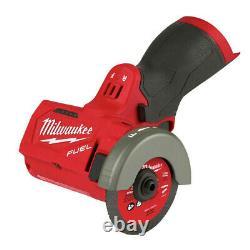 Milwaukee 2522-20 M12 FUEL Li-Ion 3 in. Compact Cut Off Tool (BT) New