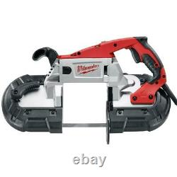 Milwaukee 6238-21 120 AC/DC Deep Cut Band Saw Kit with Carrying Case