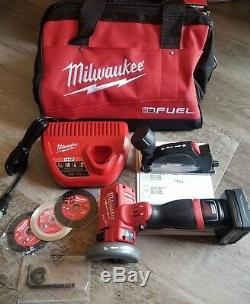 Milwaukee M12 FUEL 3 Compact Cut off Tool Kit with Accessories XC #2522-21XC
