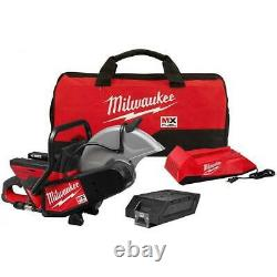 Milwaukee MXF314-1XC MX FUEL 14 inch Cordless Cut-Off Saw with Battery and Charger