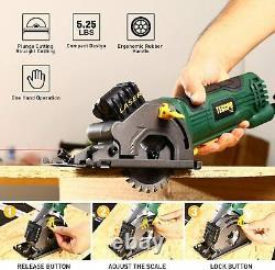 Mini Circular Circular Saw Hand Tool Laser Cut Wood And Metal Guide Accessoire