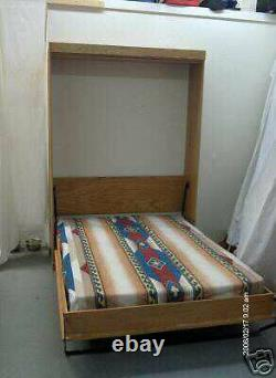 Murphy Panel Bed Queen Pre Cut Do It Yourself Kit High Quality Oak and Birch