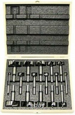 NEW IN CASE Freud FB-100 Diablo 16-Piece Forstner Bit Set 1/4-inch to 2-1/8-inch