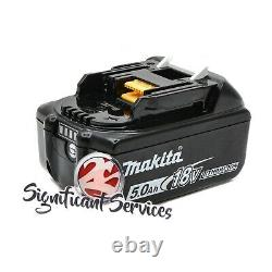 New Makita XSS02Z 18V LXT 5.0 Ah Li-Ion Cordless Battery 6-1/2 Circular Saw Kit