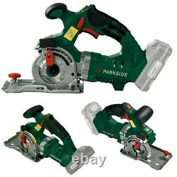 New Parkside 20V Cordless Plunge Cut Circular Saw With Battery and Charger