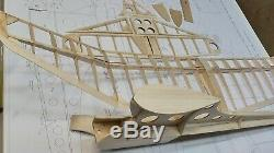 Old Timer 1941 Banshee, Laser Cut Airplane Kit 50 Wing, For 3-Ch RC Electric