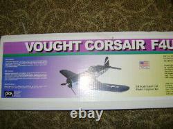 PICA F4U CORSAIR RC Model Balsa 1/8th SCALE Airplane Kit, Laser cut, 61.5 WS
