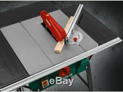Parkside Bench Table Saw 2000w 254mm PTK2000 E3 Laser Beam For Cutting Line
