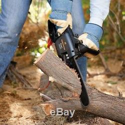 Pole Saw Tree Trimmer Chainsaw Electric 15 Ft Telescoping Branch Pruner Wood Cut