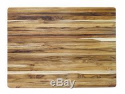 Proteak 107 Teak Cutting Board #1 America's Test Kitchen 24 x 18 x 1.5 Inch