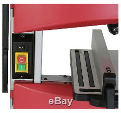 Quality 9 Bench Top Woodworking Bandsaw 240v with Cast Table Wood Cutting Blade