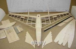 RC PLANE Hager Impressivo 0.88m CNC wood cut KIT without motor for adults NEW