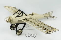 RC airplane balsa wood laser cut plane kit Monocoque 1000mm Wingspan DIY NEW