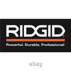 RIDGID Sliding Miter Saw 15 Amp Corded 12 in. Dual Bevel LED Cut Line Indicator