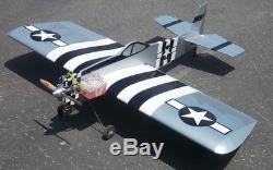 Rc plane P-47 Profile 52 ARF for adults Wingspan 52 inches aircraft laser cut
